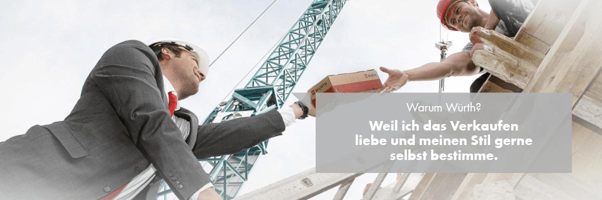 Verkäufer Außendienst im Bereich Bauunternehmen/Baustelle (m/w/d)
